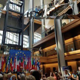 Besuch im Europäischen Parlament in Straßburg