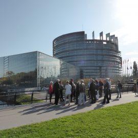 Besuch im Straßburger Europaviertel